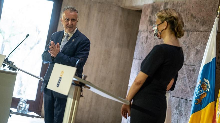 Yolanda Díaz garantiza la prórroga de los ERTE más allá de septiembre si son necesarios