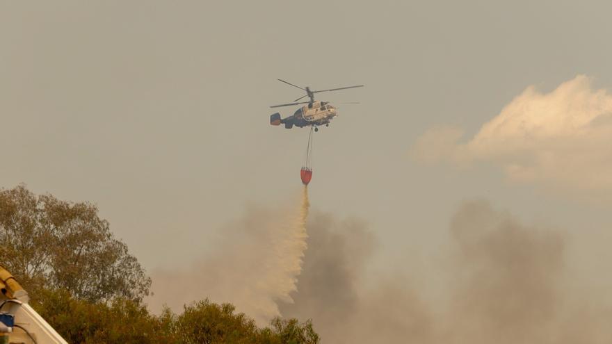 Las investigaciones apuntan a que el incendio de Málaga fue provocado