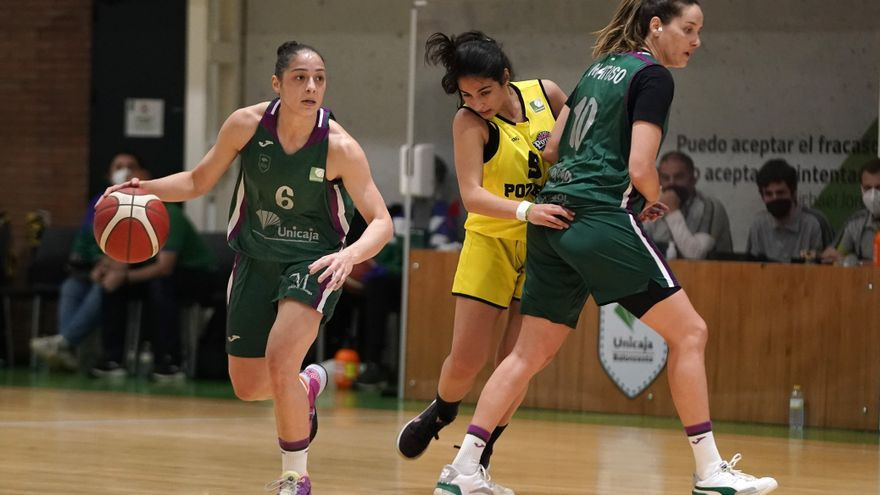 Brillante despedida del Unicaja Femenino (67-48)