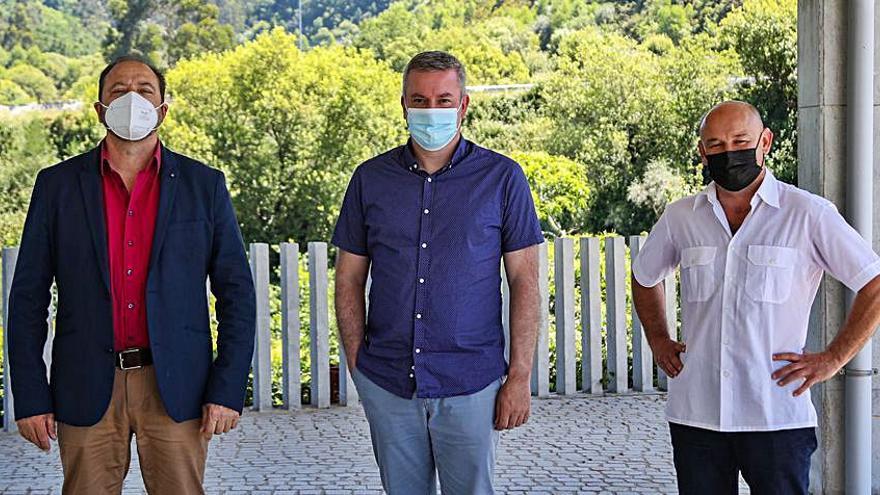 A Cañiza, Covelo y Mondariz reclaman al Gobierno un nuevo enlace en la A-52