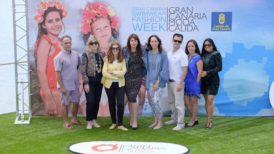 La moda infantil se viste en la Semana de Baño de Gran Canaria Moda Cálida