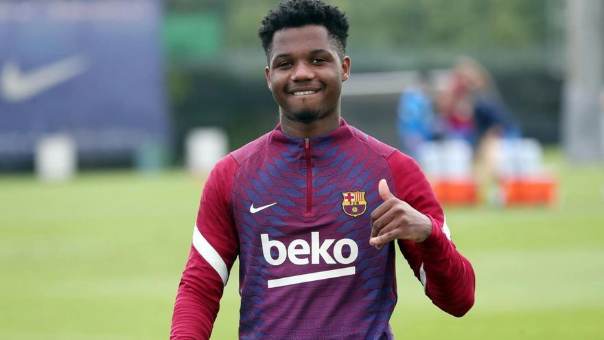 El plan del Barça con el futuro de Ansu Fati