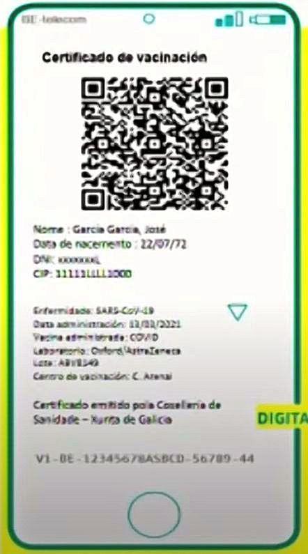 Certificado digital.