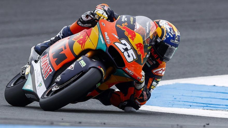 Raúl Fernández, ganador de Moto2 2021 en el circuito Red Bull Ring