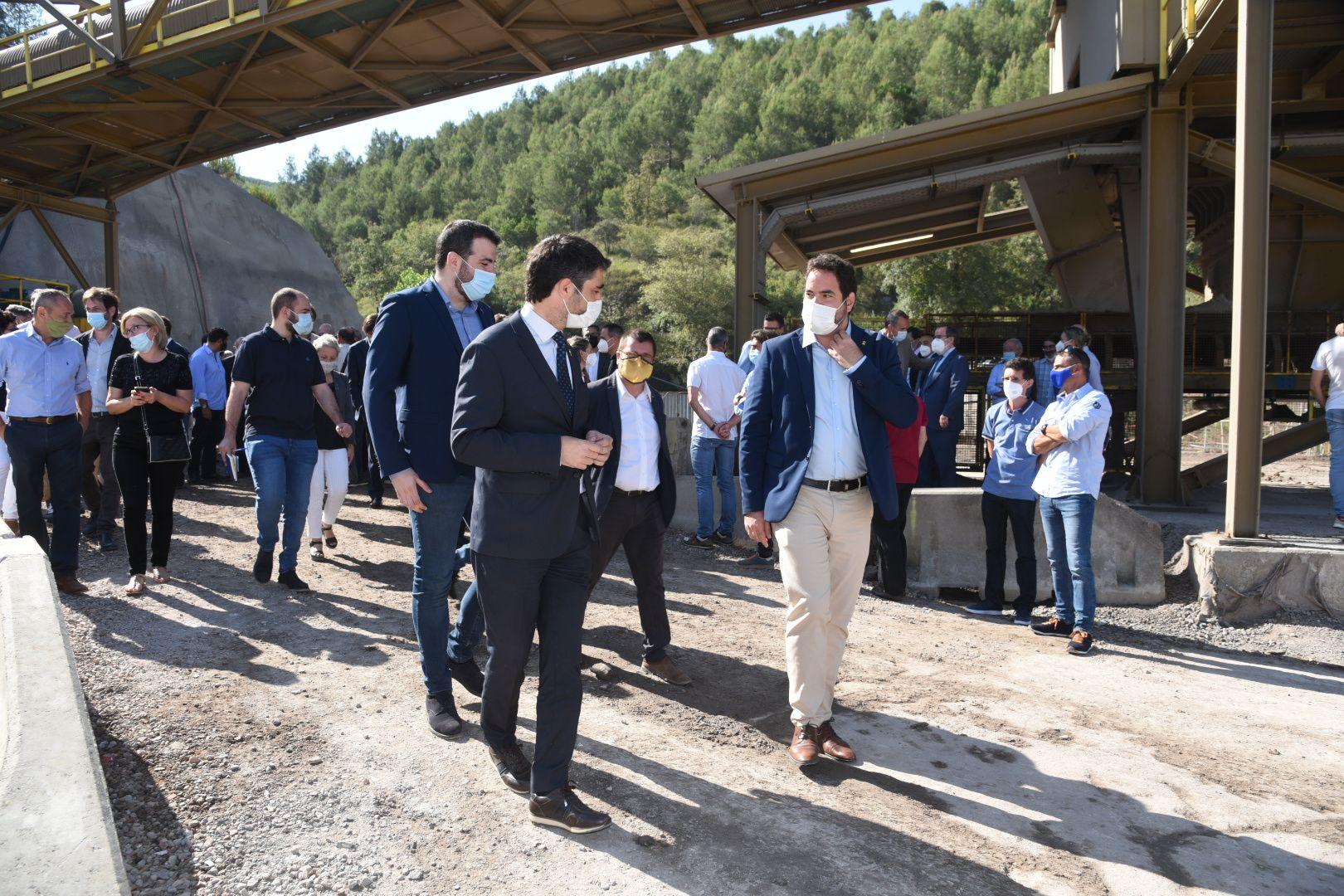 ICL inaugura la rampa de Cabanasses
