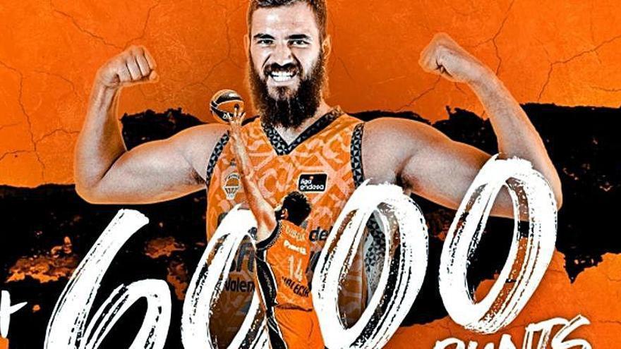 Bojan Dubljevic rompe la barrera de los 6.000 puntos