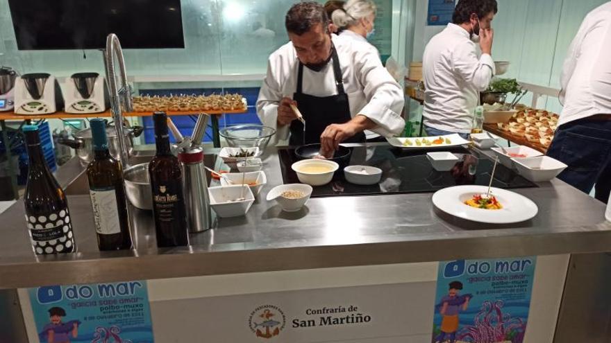 Innovación culinaria hasta con mújol en las Xornadas Gastronómicas de O Grove