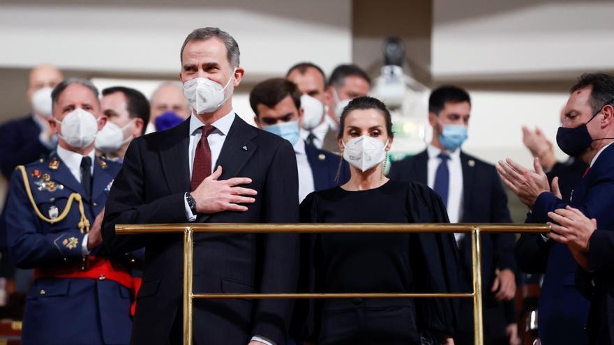 Los Reyes presiden el concierto anual en memoria de las víctimas del terrorismo