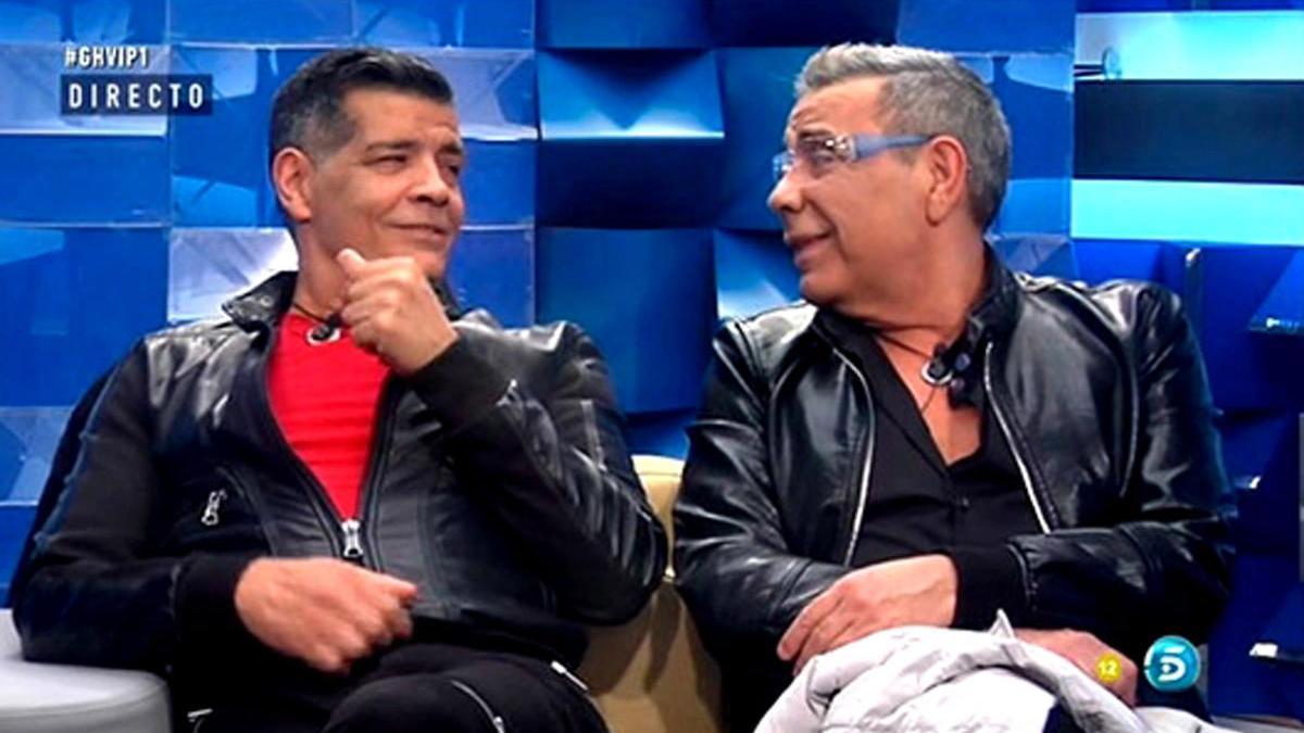 Una imagen de Los Chunguitos en un programa de televisión.
