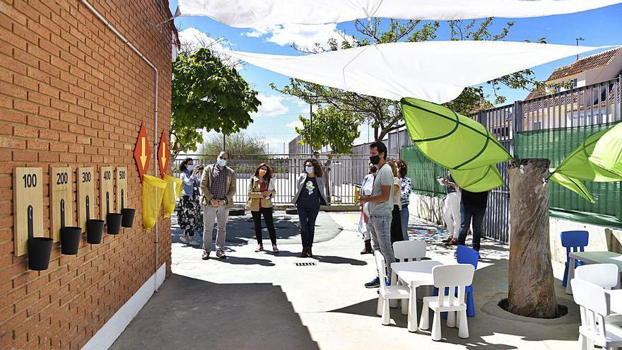 El CEIP Jaume I de Paiporta estrena pati coeducatiu infantil