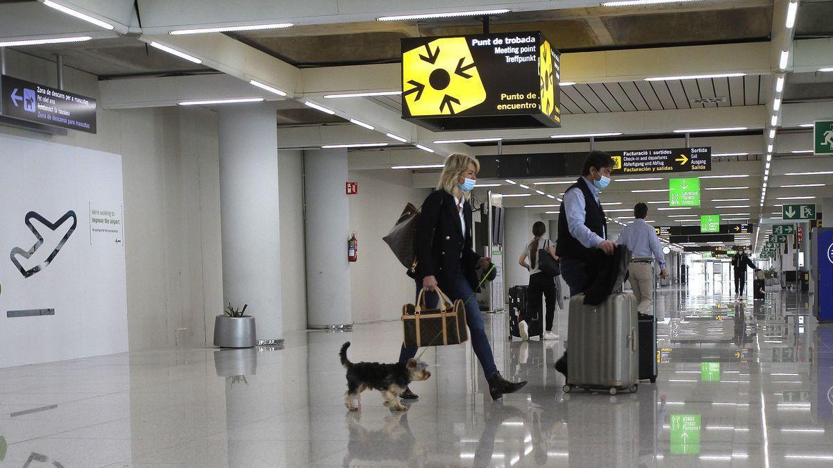 Aeropuerto de Mallorca.