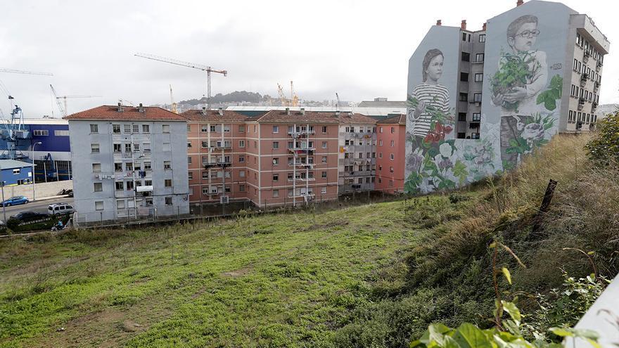 El principio del fin de uno de los murales más icónicos de Vigo