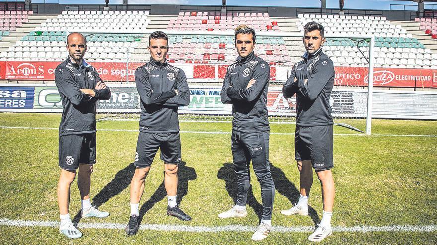 """Dani Hernández, capitán del Zamora CF: """"Nos vamos a dejar la piel"""""""