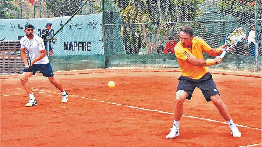 El grancanario David Marrero se queda sin título de dobles