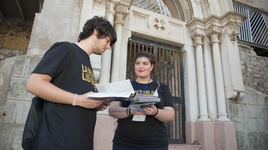 Abierto el plazo de inscripción de voluntarios en La Noche de los Museos de Cartagena