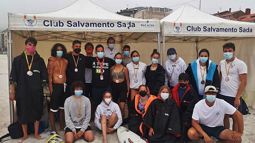 El Sasa, campeón de España juvenil y tercero en júnior