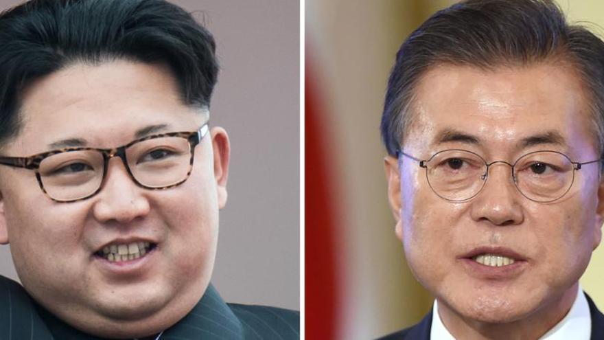 Las dos Coreas se reúnen para instalar línea telefónica entre Kim y Moon