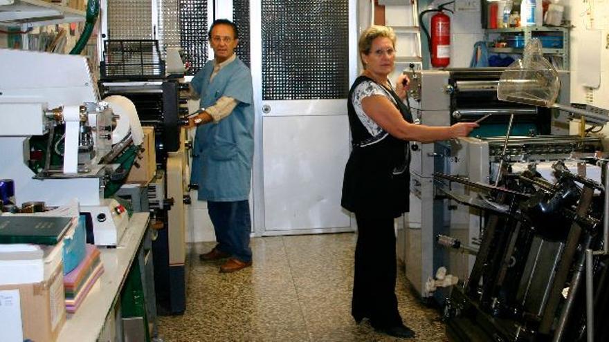 El covid deja atrás 40 años de imprenta Madova en Vila-real
