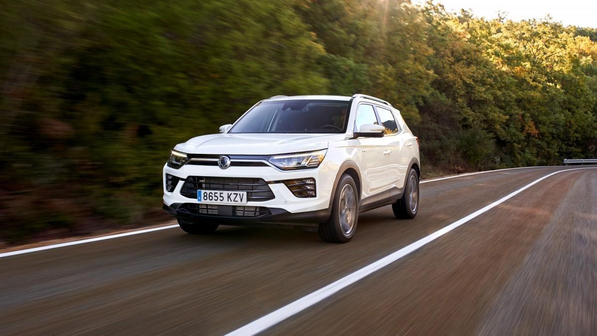 SsangYong Korando GLP: 1.200 km de autonomía y Etiqueta ECO a un precio imbatible