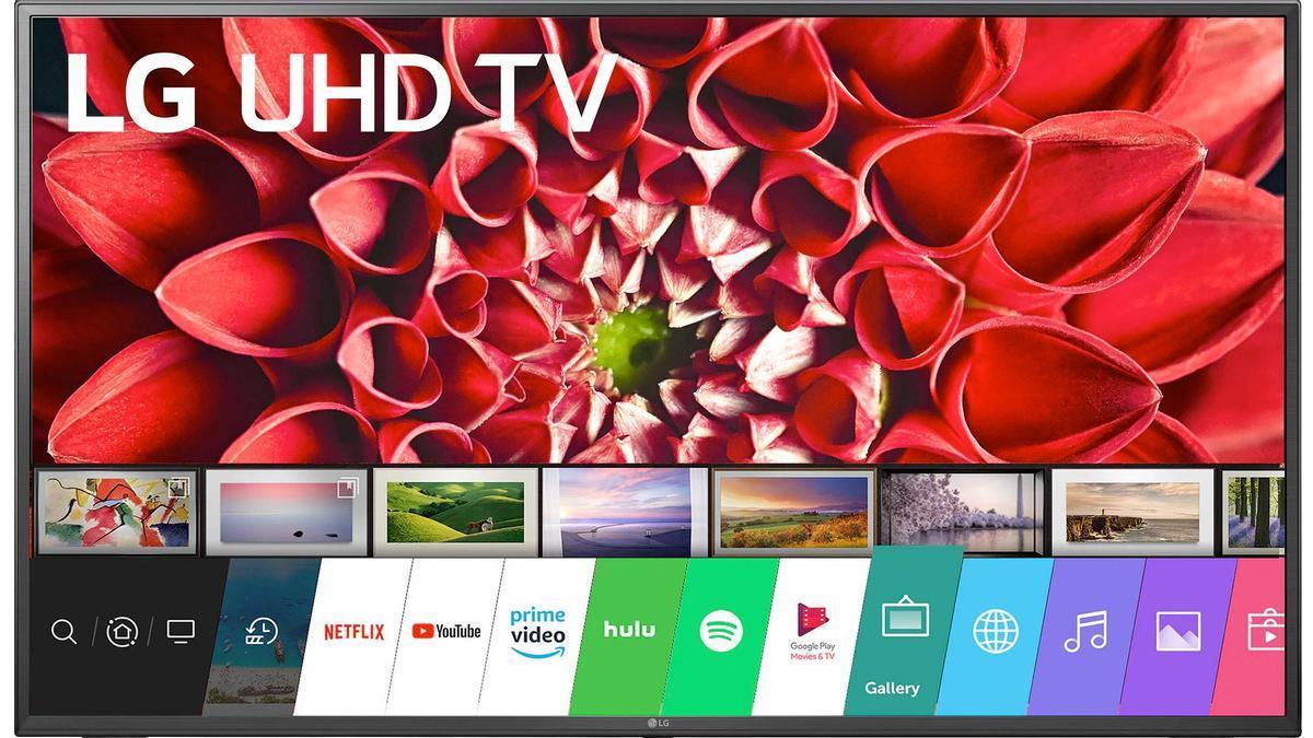 Televisión LG, Smart TV 4k de 49 pulgadas por 399 euros.