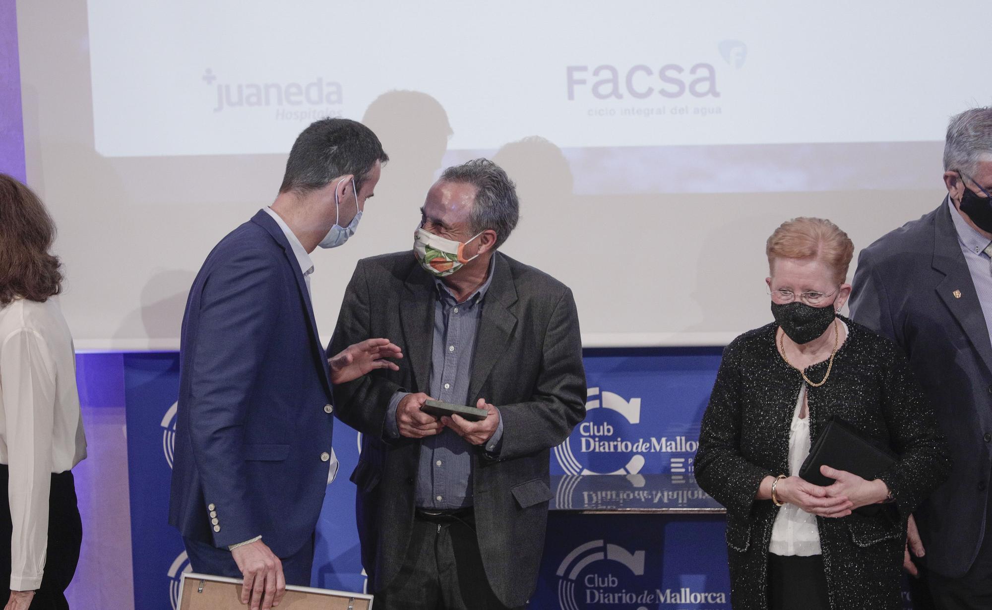 Diario de Mallorca entrega sus premios reconociendo la lucha contra la covid