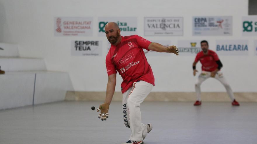 Copa Diputació de València – Caixa Popular d'escala i corda: Pere Roc II i Félix tenen a tir les 'semis'