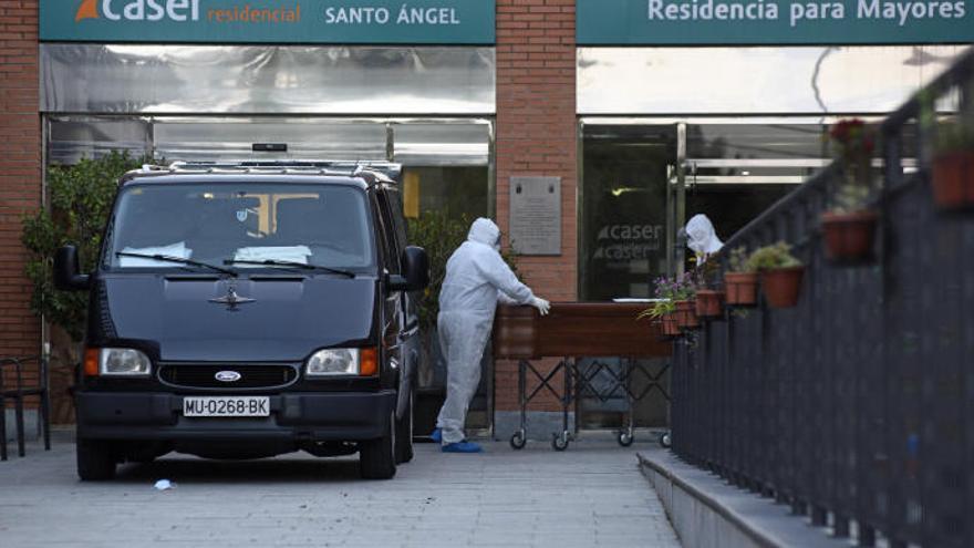 Muere otro interno de la residencia de ancianos Caser de Santo Ángel