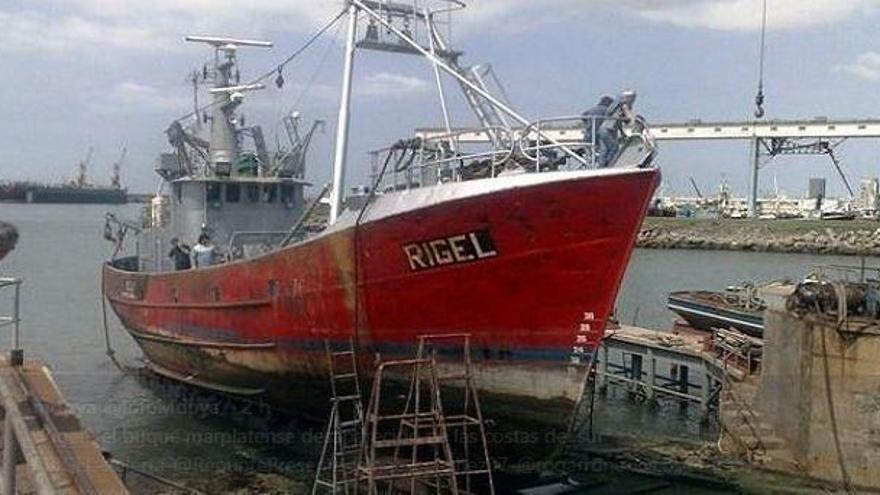 Desaparece un pesquero en Argentina con nueve tripulantes a bordo