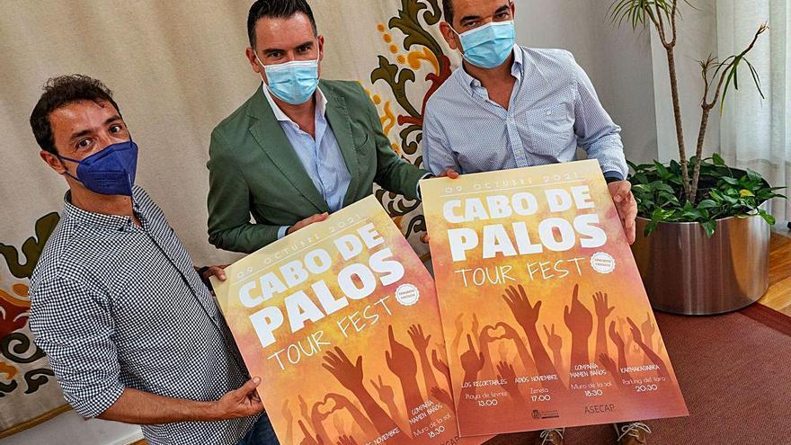 Tres conciertos y danza en vivo para el Cabo de Palos Tour Fest