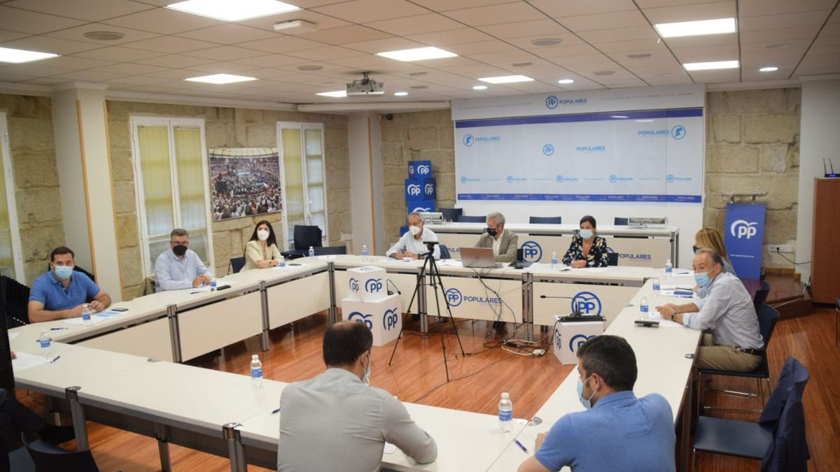 Reunión de la junta directiva del PP provincial
