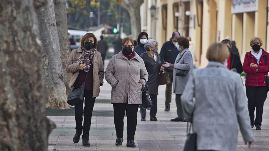 Los contagios siguen al alza en las tres comarcas con 272 positivos más