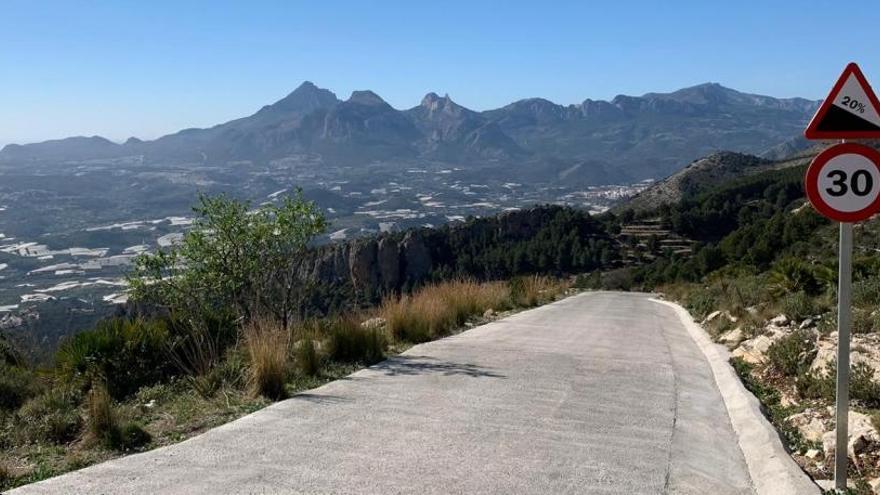 Sierra de Bernia: Ha nacido un nuevo coloso