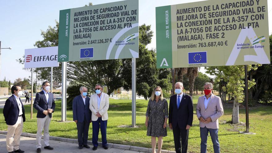 La Junta inicia la última fase de las obras de acceso al PTA