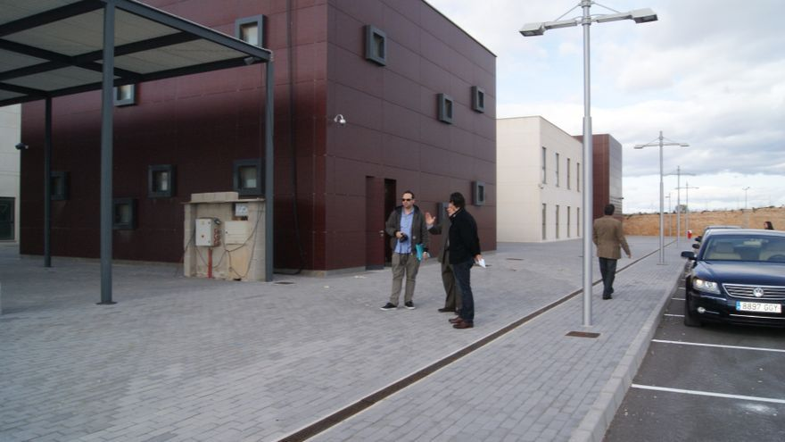 La zona del Conservatorio que se utiliza como colegio en Torrevieja tiene licencia