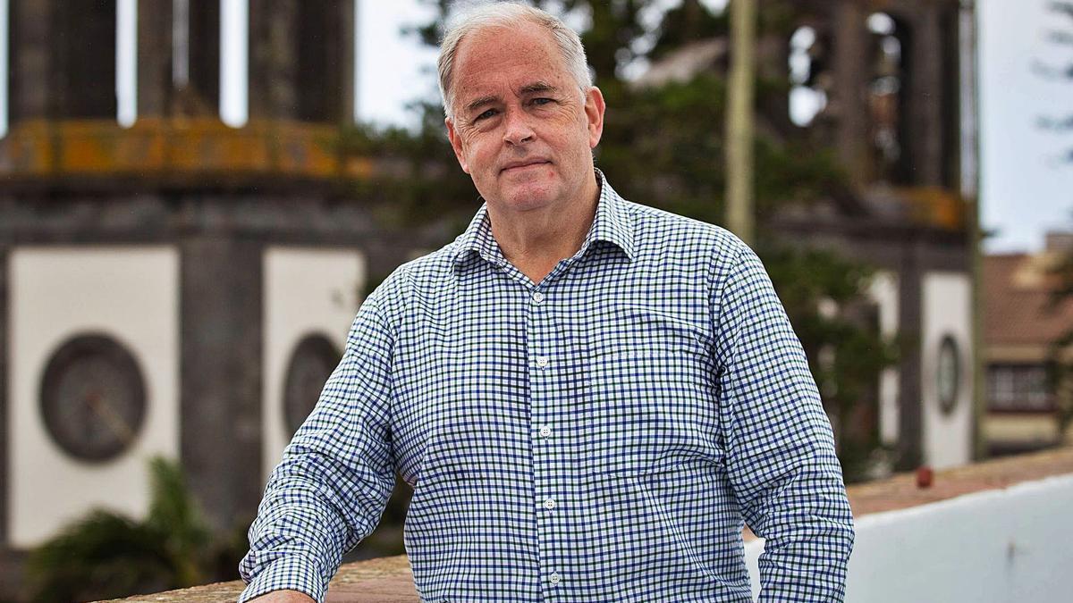 Julián Brito Serrador, presidente del Orfeón La Paz de La Laguna.