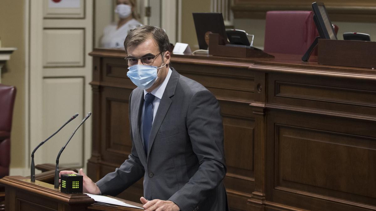 El diputado Fernando Enseñat