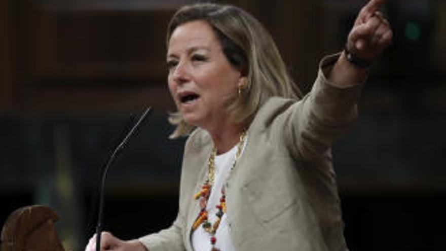 """Ana Oramas advierte sobre el enfrentamiento entre """"las dos Españas"""""""