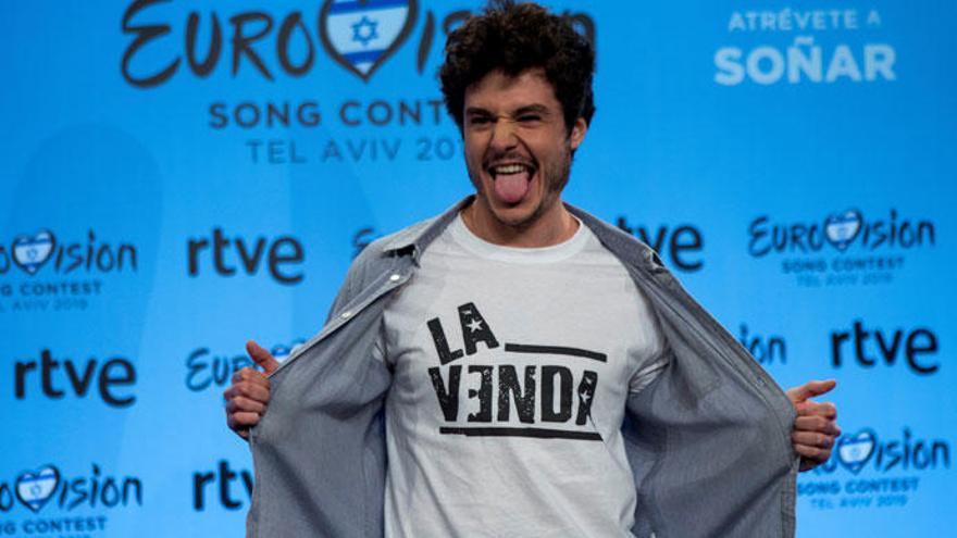 'Eurovisión 2019': Miki sube en las apuestas y se acerca al 'top10' con su canción 'La Venda'