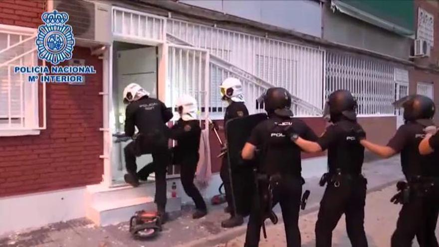 Golpe al narcotráfico en la Cañada Real de Madrid: cae el clan de los Kikos
