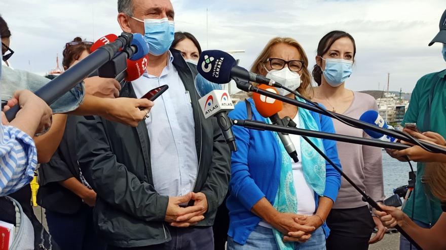 Unidas Podemos rechaza las deportaciones de migrantes desde Canarias