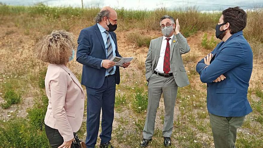 Empresaris del Berguedà demanen al conseller Tremosa més sòl industrial