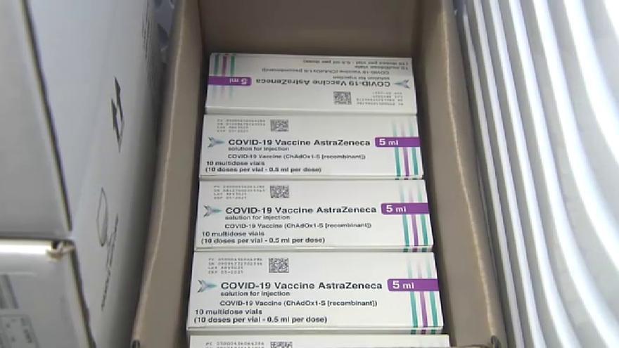 Empieza la vacunación con AstraZeneca para el personal sanitario expuesto y menores de 55 años