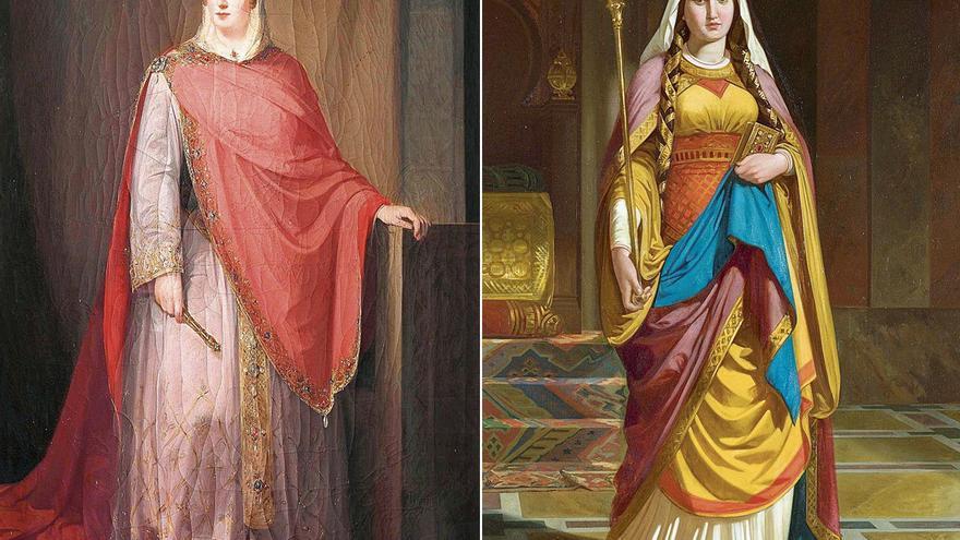 Las reinas asturianas Ermesinda y Adosinda, invitadas al Prado