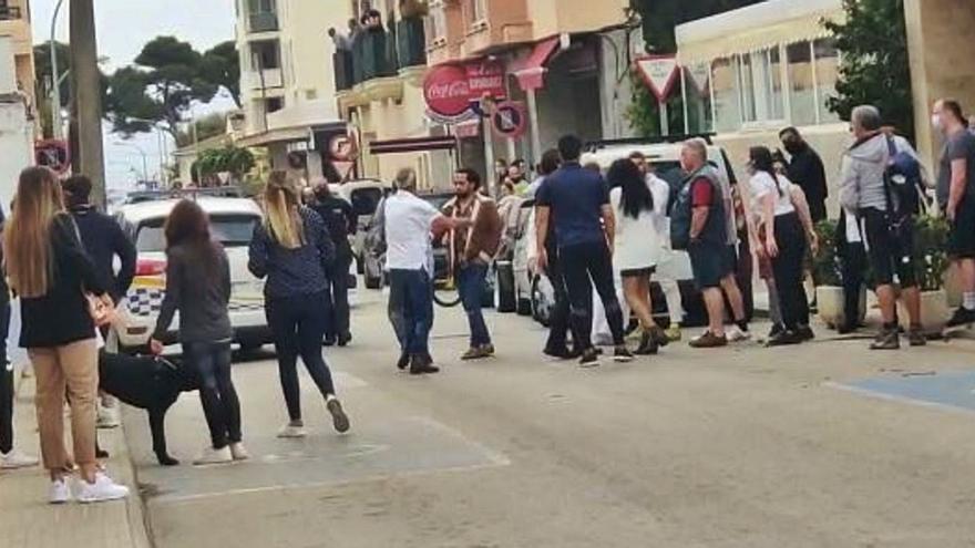 Agresión en Cala Rajada: dos detenidos, tres denunciados y once denunciantes
