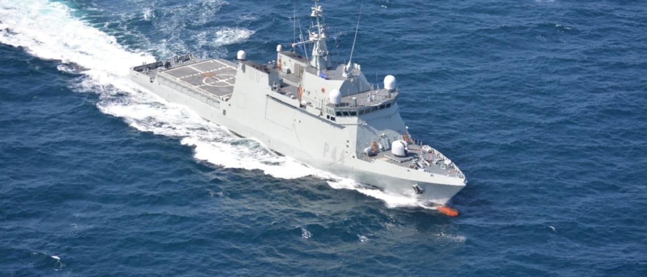 El buque de acción marítima 'Tornado'