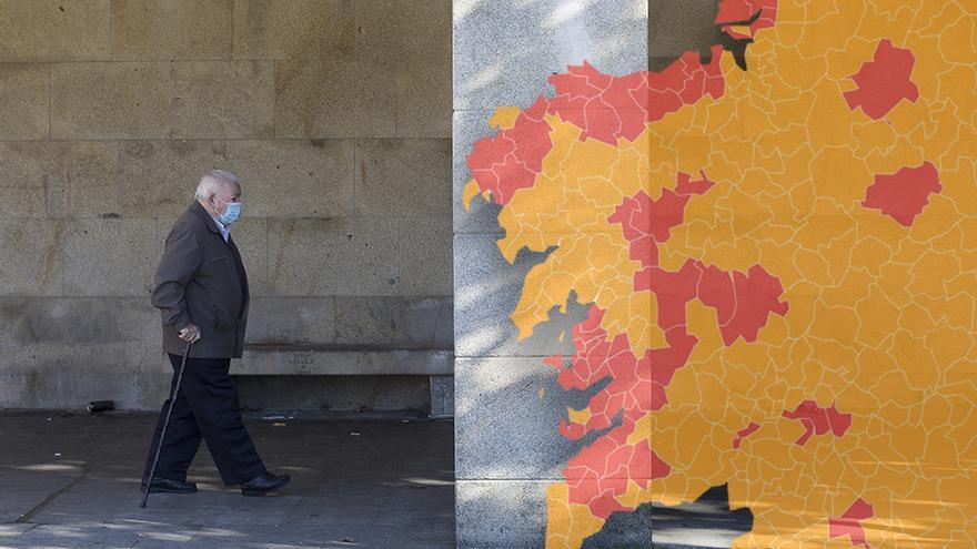 Lo que el mapa esconde: solo un tercio de gallegos se libran de las máximas restricciones