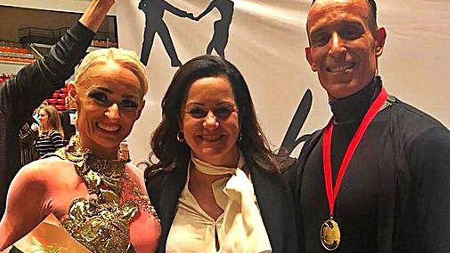 Rubén Viciana i Eva Moya, del Royal Dance, sumen el seu quart mundial sènior