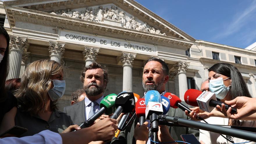 """Abascal: """"El Gobierno ha llevado a cabo la mayor vulneración de derechos y libertades fundamentales de los españoles"""""""