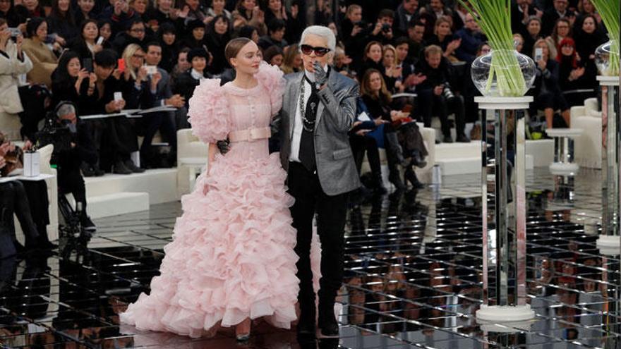 Lily-Rose Depp, protagonista del desfile de Chanel