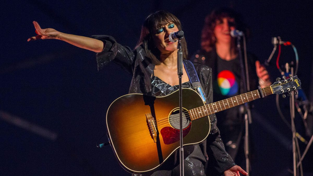 An image of the singer Eva Amaral.